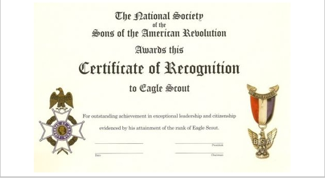 VASSAR Eagle Scout Program